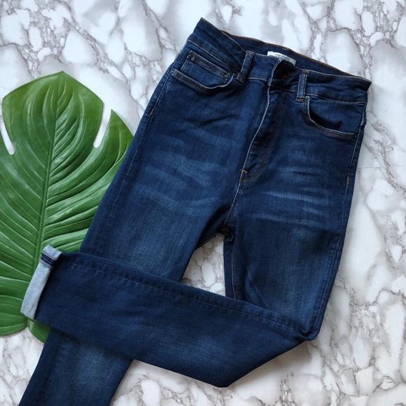 ba667362 Zara Premium Denim High Waisted Skinny Jeans. M_5b7f5c228869f76b79747aba